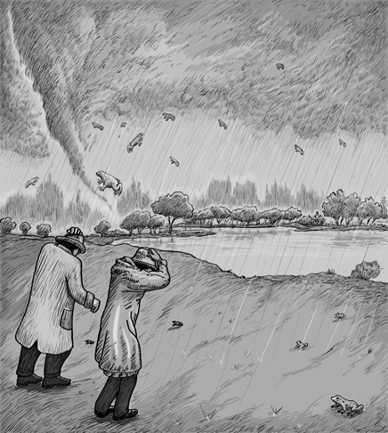 O Dia em que Choveram Peixes