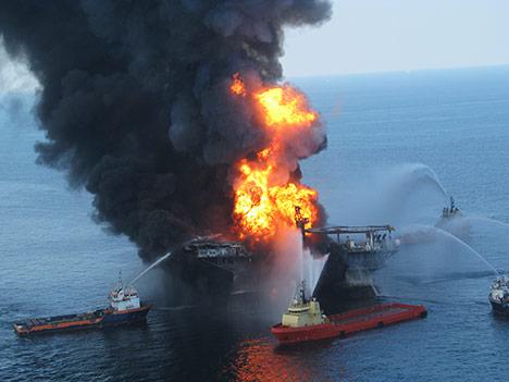 Derrame de Petróleo no Golfo do México