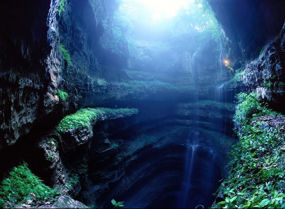 A Caverna das Andorinhas no México