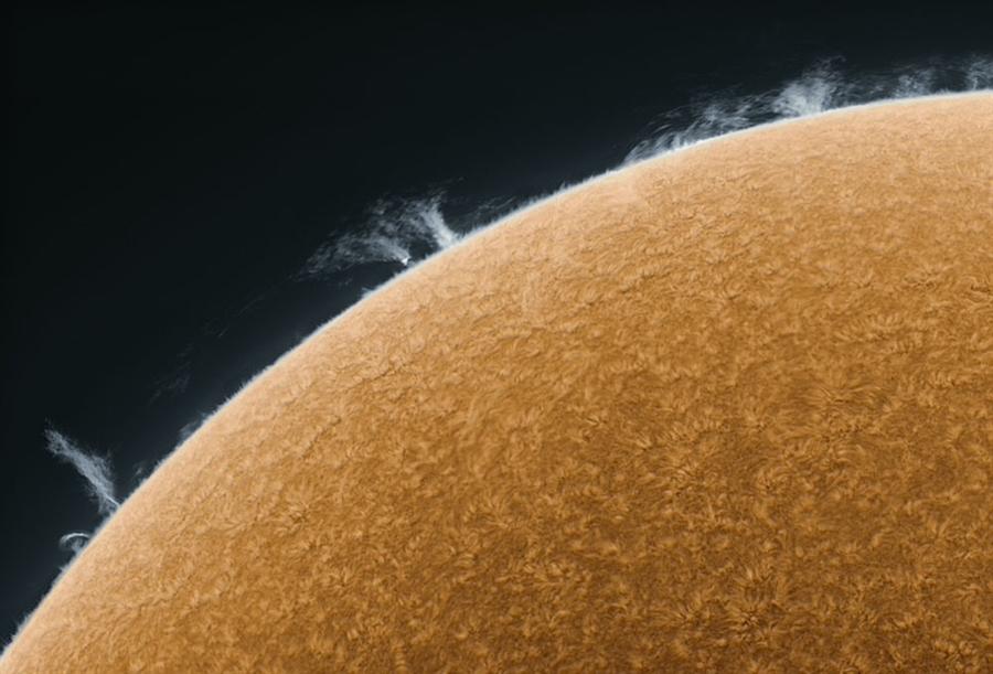 Impressionante Fotografia do Sol