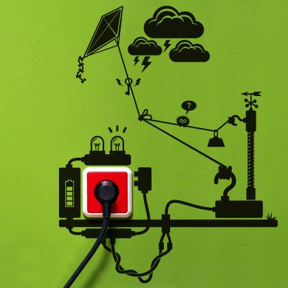 Autocolantes Ajudam a Poupar Electricidade