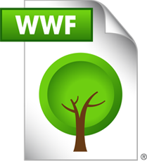 Save as WWF, Save a Tree Guarde como WWF, Salve uma Árvore