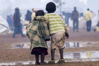 Crianças em Locais de Desastre Natural