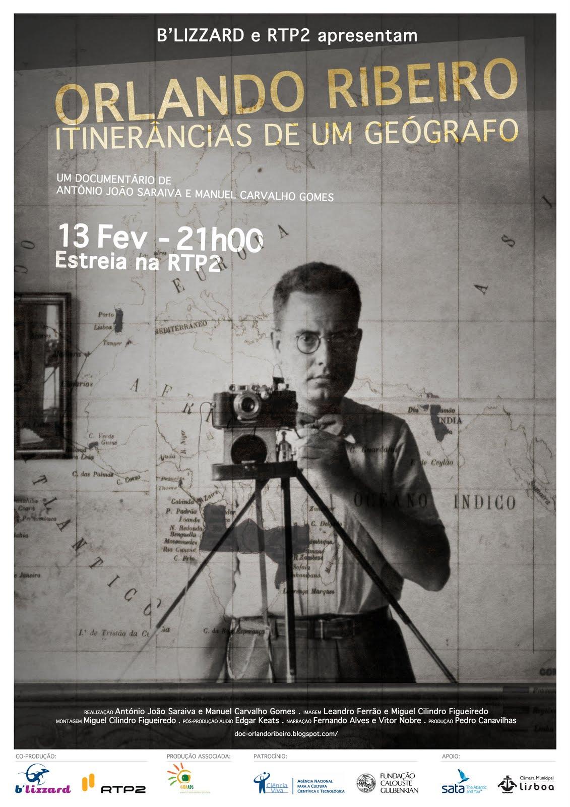 Orlando Ribeiro: Itinerâncias de um geógrafo (documentário)
