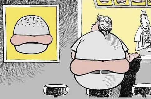 Uma Sociedade de Hambúrgueres