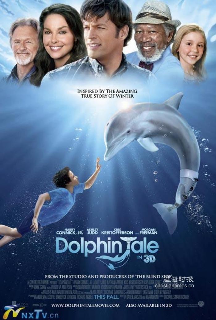 A História Real de Winter, um Golfinho sem Cauda, no Cinema