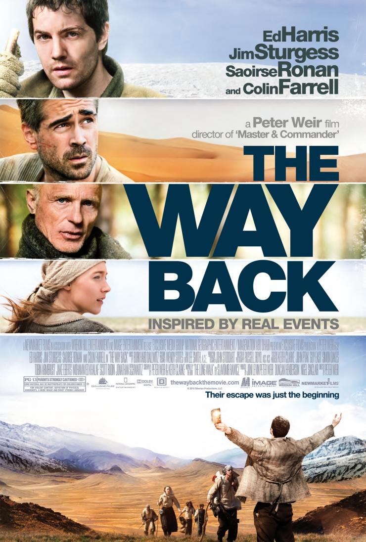 Rumo à Liberdade (The Way Back) de Peter Weir