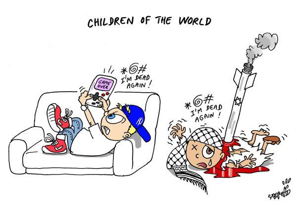 As Crianças do Mundo… Cartoon