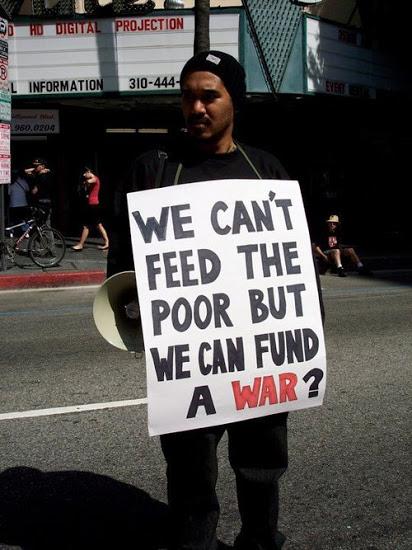 O Dinheiro, a Fome e a Guerra