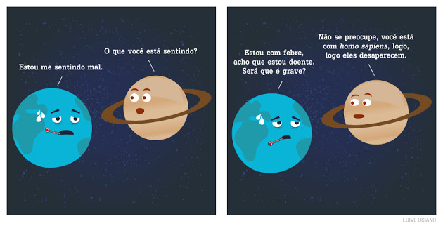 O Desabafo da Terra   Cartoon