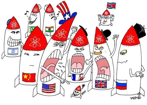 A Eterna História do Irão Nuclear (Cartoon)