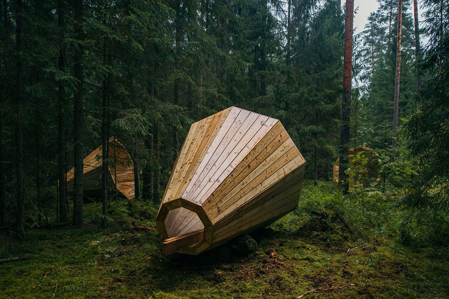 Megafones para Ouvir a Floresta