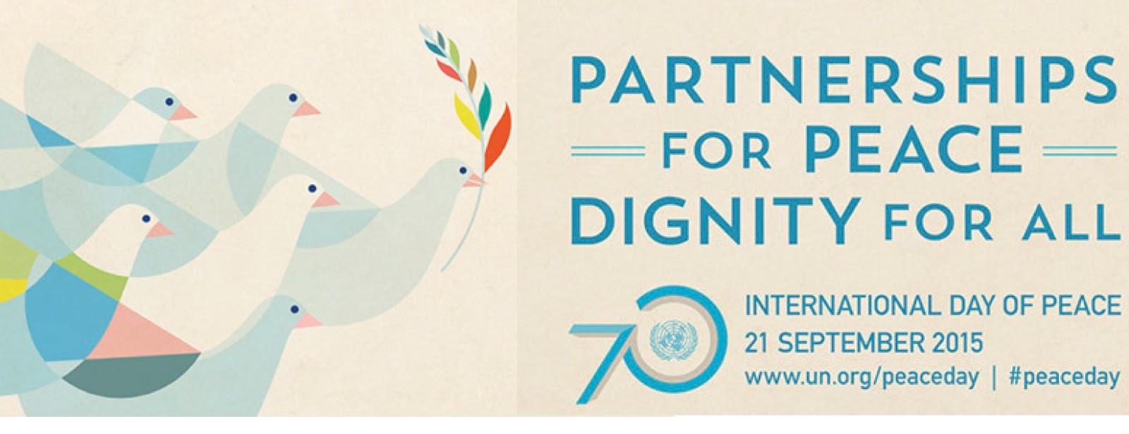 Dia Internacional da Paz – 21 de Setembro