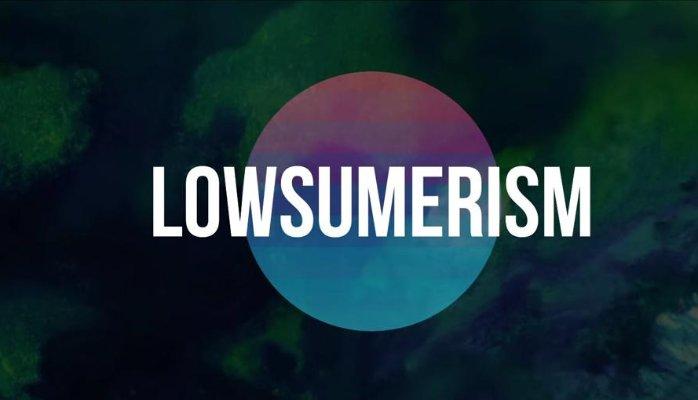 """O Aparecimento do """"Lowsumerism"""" – Consumir Menos"""
