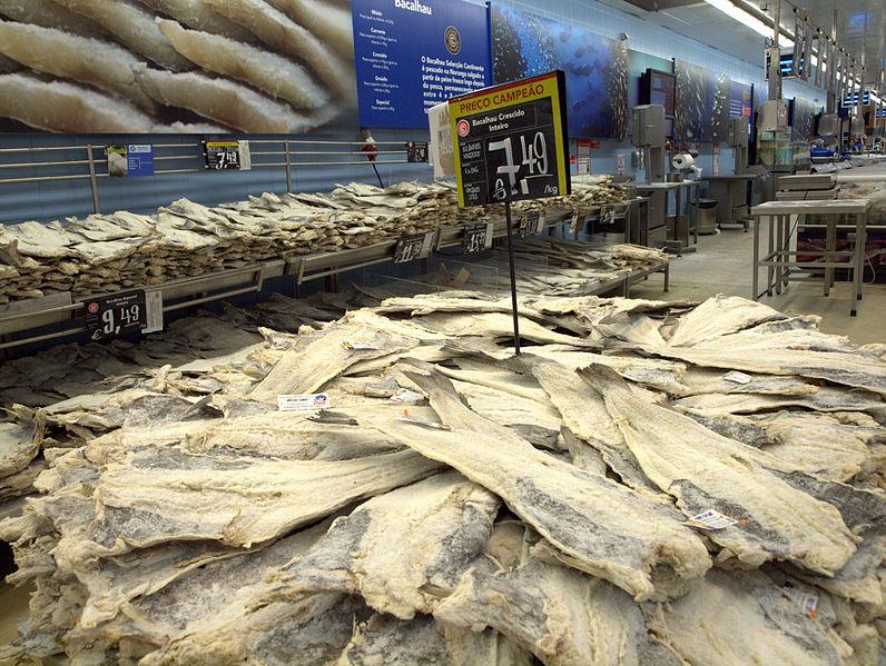 Os Portugueses Consomem 1000 Toneladas de Bacalhau no Natal