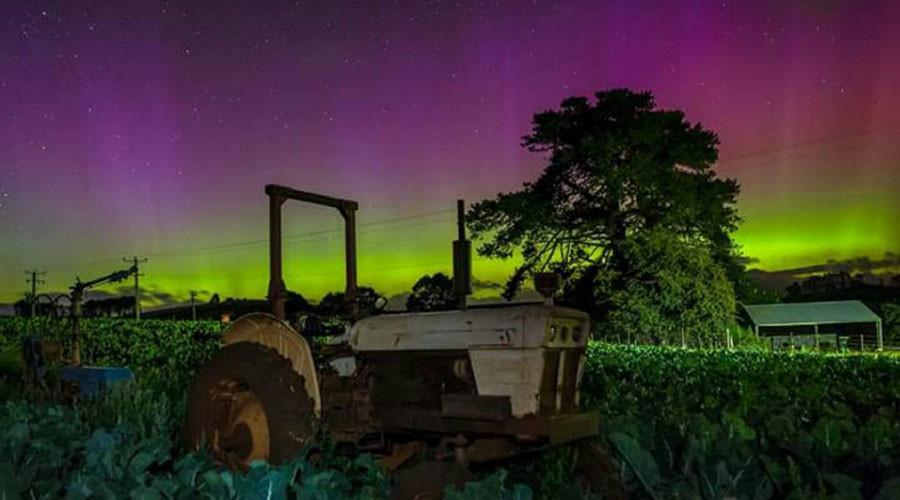 As Incríveis Auroras da Tasmânia [Vídeo e Fotos]