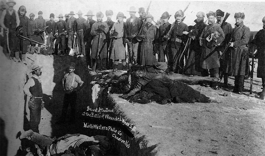 O Massacre de Wounded Knee (29 de dezembro de 1890)