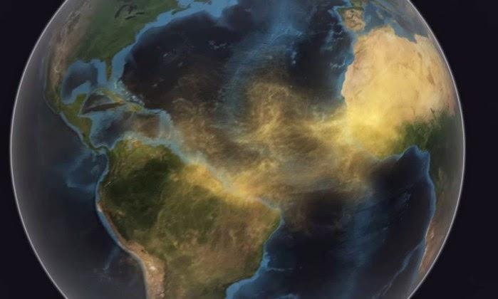 Poeira do Saara Ajuda a Manter a Amazónia Viva