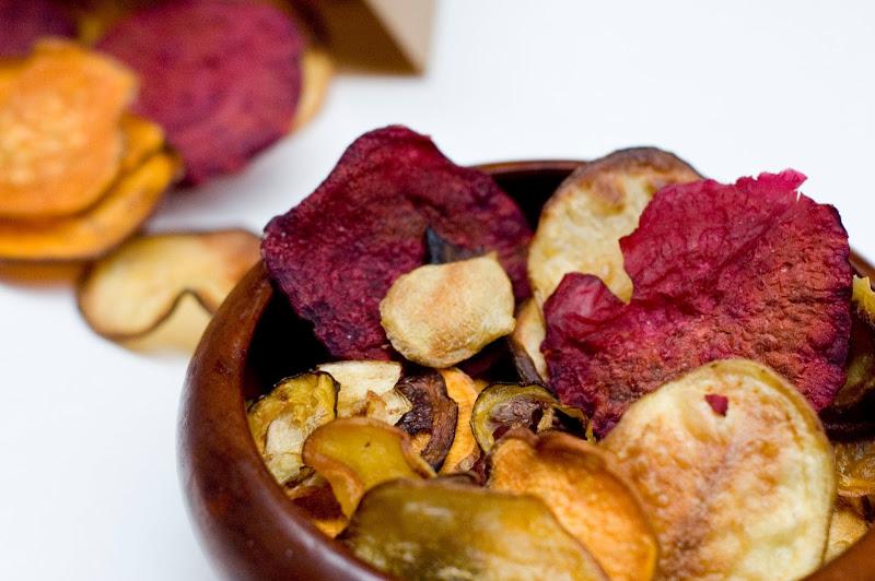 10 Receitas de Chips de Legumes [Vídeos]