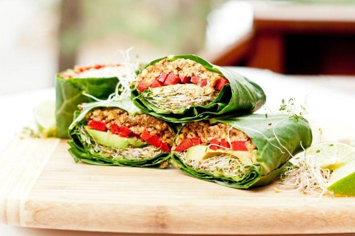 13 Receitas de Wraps Vegans [Vídeos]