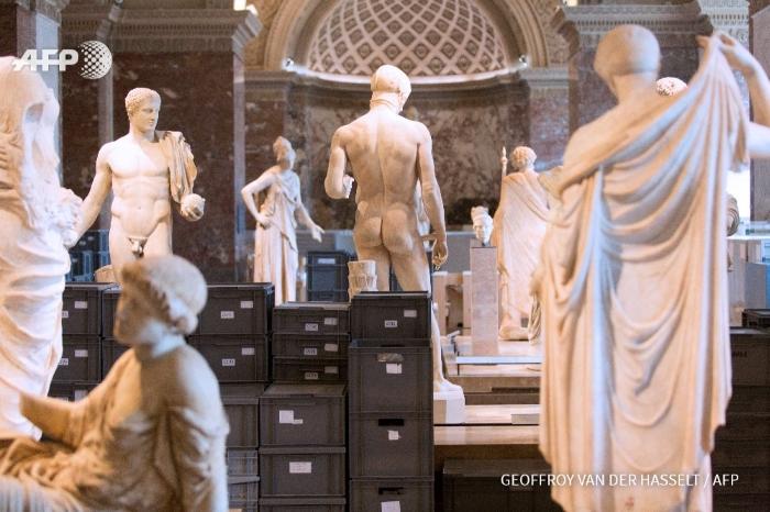 Louvre Fechado para Salvar Obras de Arte das Cheias