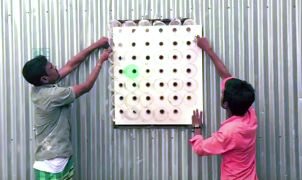 """Aprenda a Fazer um """"Ar-condicionado"""" sem Eletricidade, com Garrafas de Plástico [DIY]"""