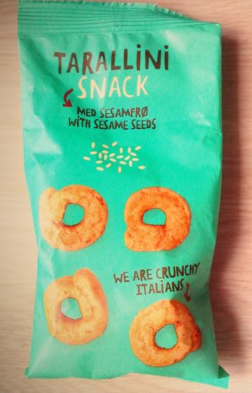 Produtos Experimentados: Snack Tarallini com Sésamo – Tiger