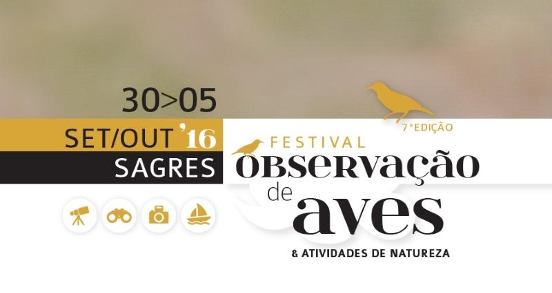 7º Festival de Observação de Aves & Atividades de Natureza em Sagres