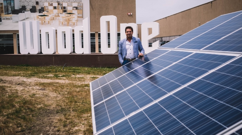 Wood One, a fábrica portuguesa que funciona 100% a energia solar