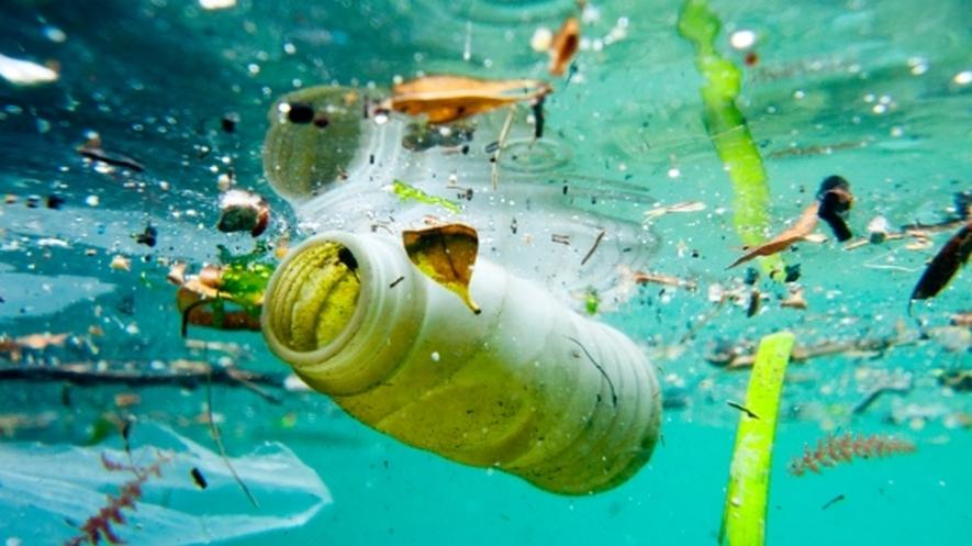 O Plástico no oceano