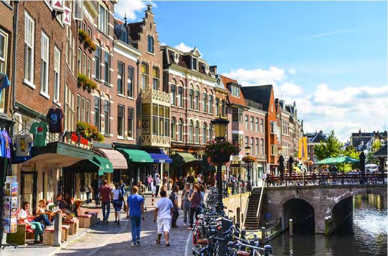 Esta Cidade Holandesa Vai Pôr o Rendimento Básico à Prova