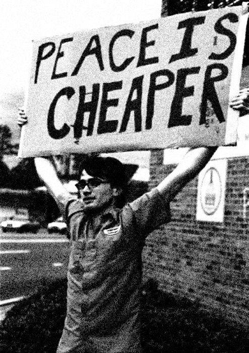 A Paz é mais barata