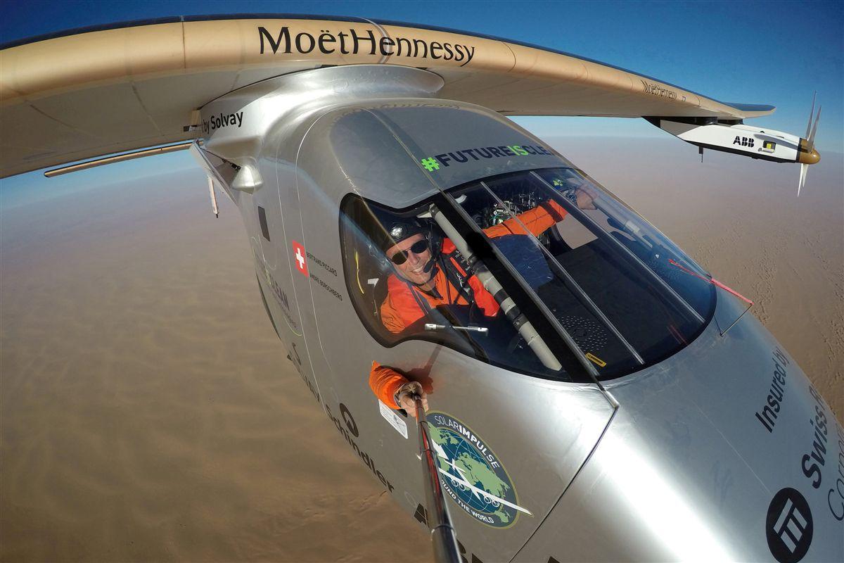 Solar Impulse 2, o avião solar que deu a volta ao mundo