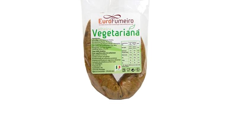 Produtos experimentados: Alheira Vegetariana da Eurofumeiro