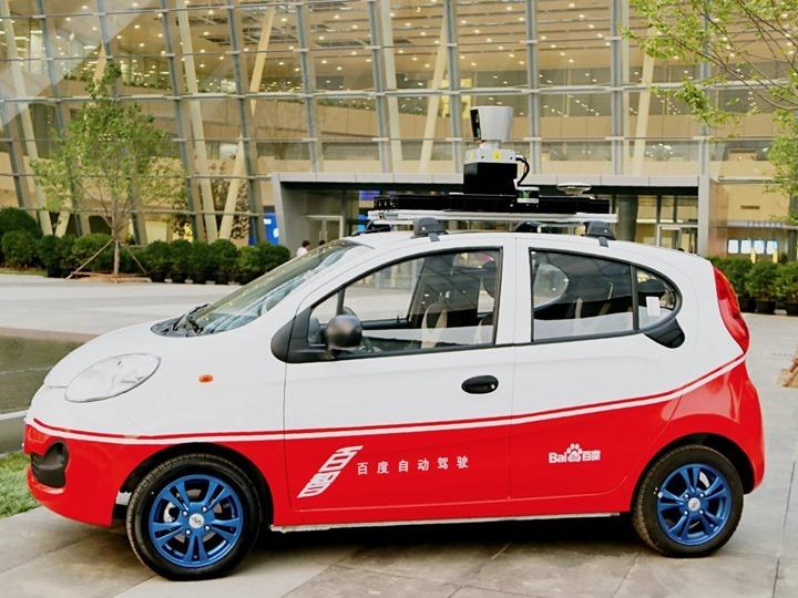 Baidu, a Google da China, apresenta o seu carro elétrico e autónomo