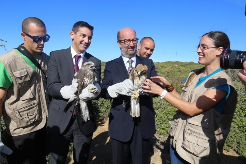 Ministro do Ambiente visita festival dedicada à Natureza