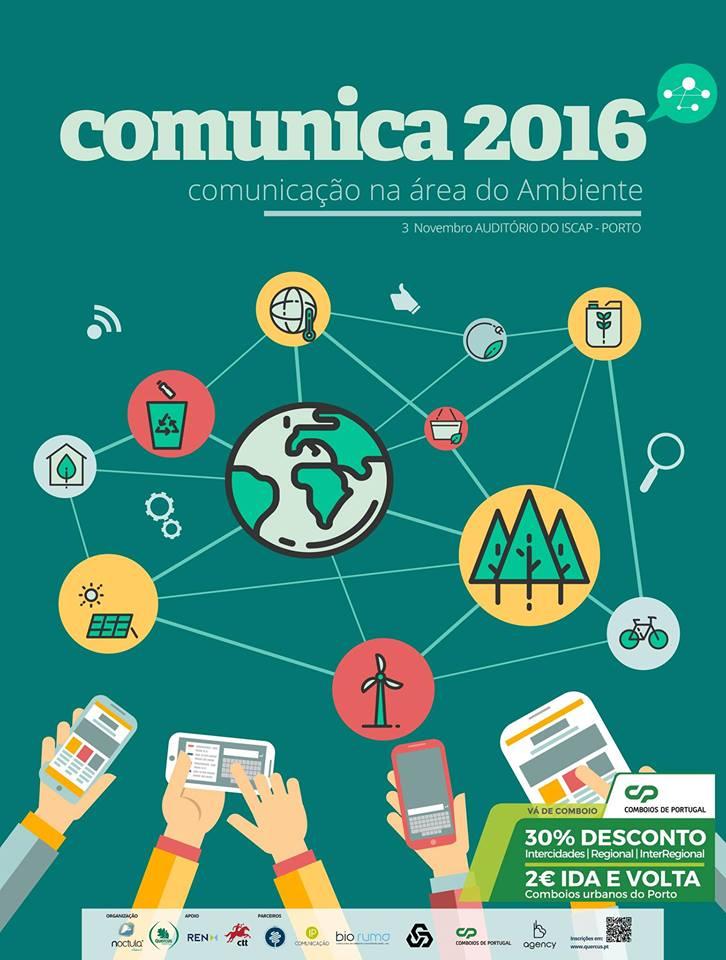 Comunica 2016 – Conferência na Área do Ambiente