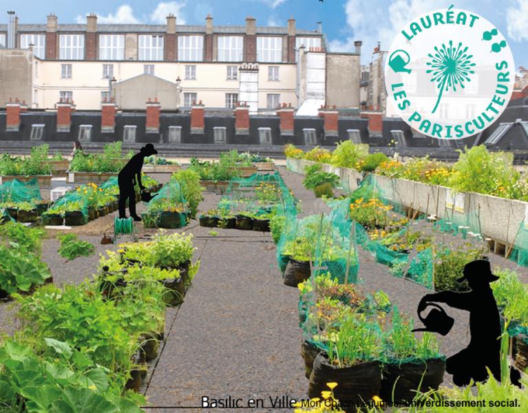 33 novas hortas urbanas em Paris