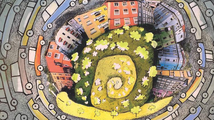 Moradores pedem jardim público em vez de parque de estacionamento em Lisboa