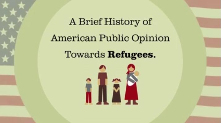 Breve história da opinião pública norte-americana sobre os refugiados [vídeo]