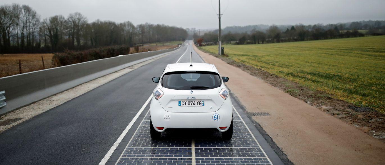 Primeira estrada de painéis solares do mundo inaugurada em França