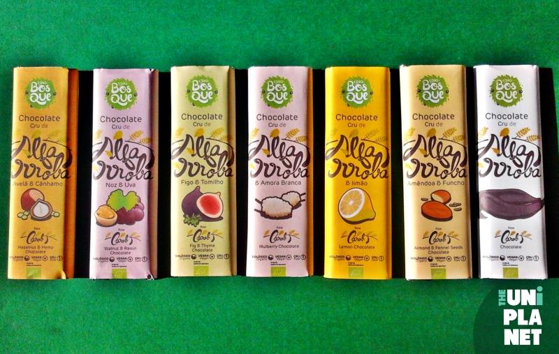 Produtos experimentados: Chocolates Crus de Alfarroba – Casa do Bosque