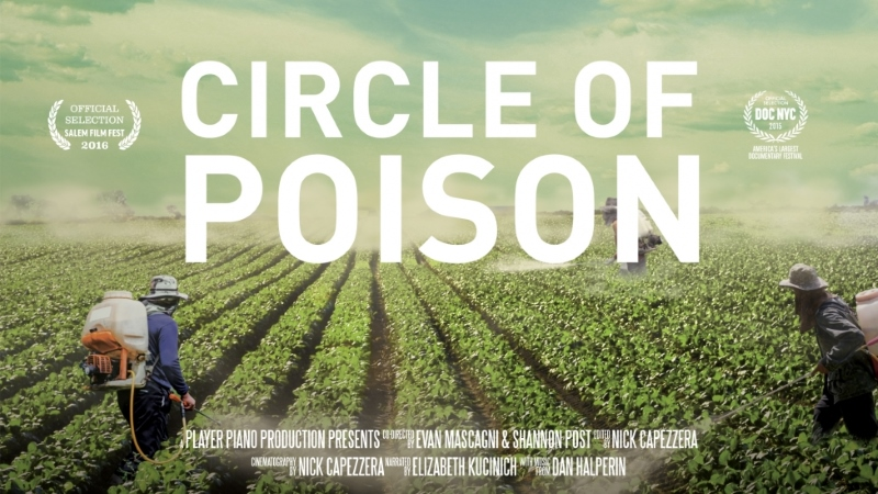Círculo de Veneno: as voltas que os pesticidas dão até chegarem aos nossos pratos