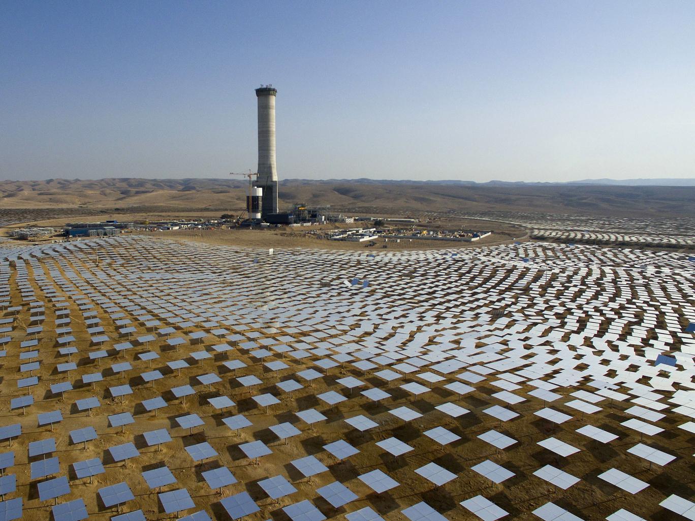 A torre solar mais alta do mundo – Israel