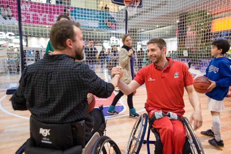Desafie os seus limites e apoie as estrelas do basquetebol em cadeira de rodas na Semana All Star
