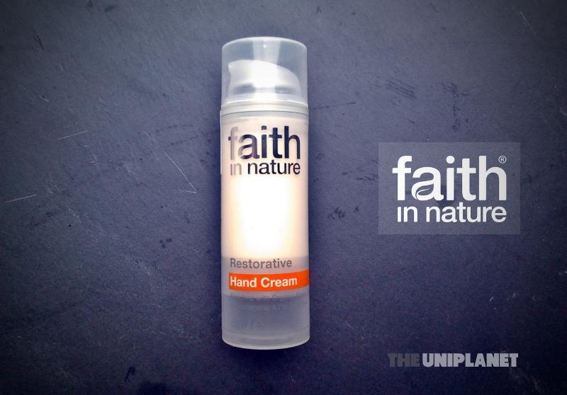 Produtos experimentados: Creme de mãos reparador – Faith in Nature
