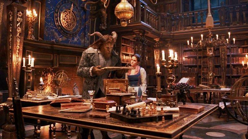 """Biblioteca Joanina de Coimbra serviu de inspiração para o filme """"A Bela e o Monstro"""" da Disney"""