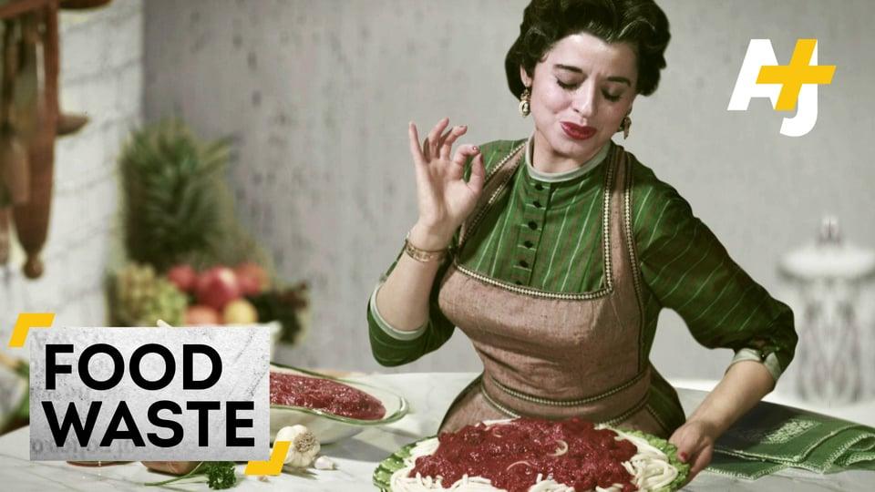 Porque estamos a desperdiçar tanta comida?
