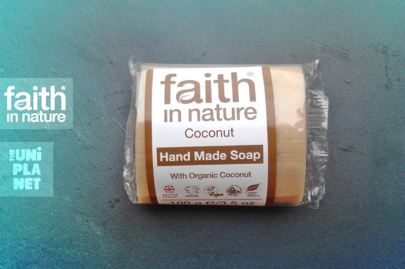 Produtos experimentados: Sabonete de coco – Faith in Nature