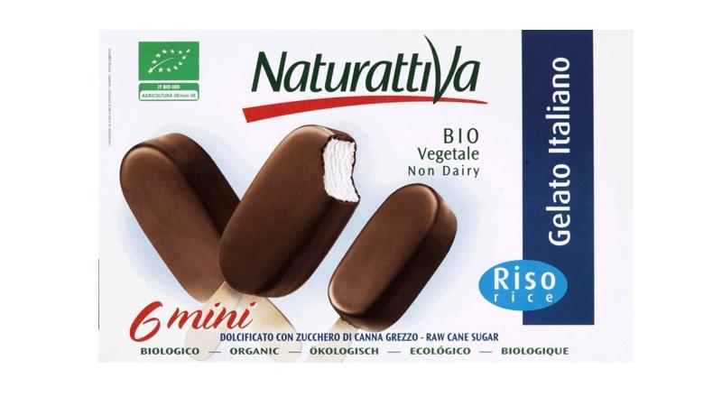 Produtos experimentados: Mini gelados 100% vegetais e biológicos – Naturattiva